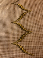 The start of an embroidery project I'll probably finish in 2022
