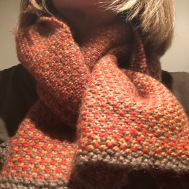 This scarf took four years!